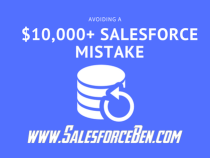 Avoiding a $10,000 Dollar Salesforce Mistake with Metadata Backup