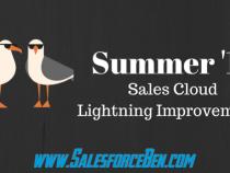 Salesforce Summer '17 – Sales Cloud Lightning Improvements