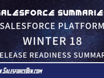 Salesforce Summary – Salesforce Platform Winter 18 — Release Readiness Summary
