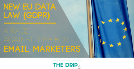 New EU Data Law (GDPR) – a race against time for Email Marketers