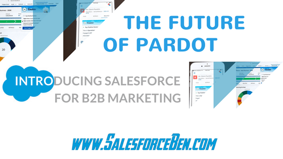 the future of pardot was unveiled to us during the b2b marketing keynote at dreamforce last week pardot classically the cornerstone of b2b marketing on