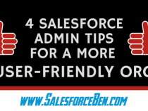 4 Salesforce  Admin Tips for a more User-friendly Org