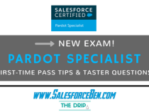 Pardot Specialist Mock Exam Launch – How to Pass First Time!