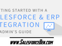 An Admin's Guide for Getting Started with a Salesforce and ERP Integration