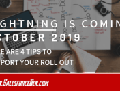 Lightning Is Coming on October 2019! Here are 5 Tips to Support your roll out…