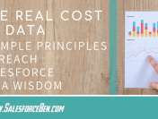 The Real Cost of Data: 3 Simple Principles to Reach Salesforce Data Wisdom