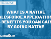 What Is a Native Salesforce Application? 5 Benefits You Can Gain by Going Native