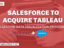 Salesforce Acquire Tableau – a Leading Data Visualization Provider