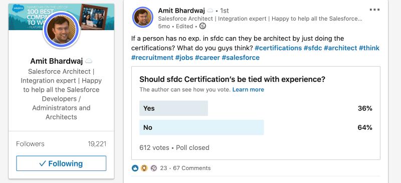 """, Pouvez-vous devenir un architecte Salesforce avec uniquement des certifications?<span class=""""wtr-time-wrap after-title""""><span class=""""wtr-time-number"""">1</span> minutes de lecture</span>"""