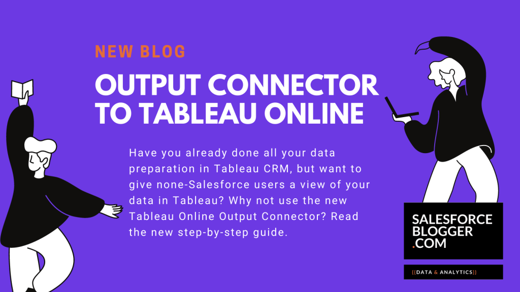 Output Connector to Tableau Online