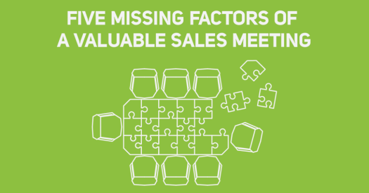 Missing Factors of a Sales Meeting