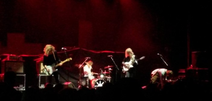 Sundara Karma supported The Wombats at the Manchester Apollo