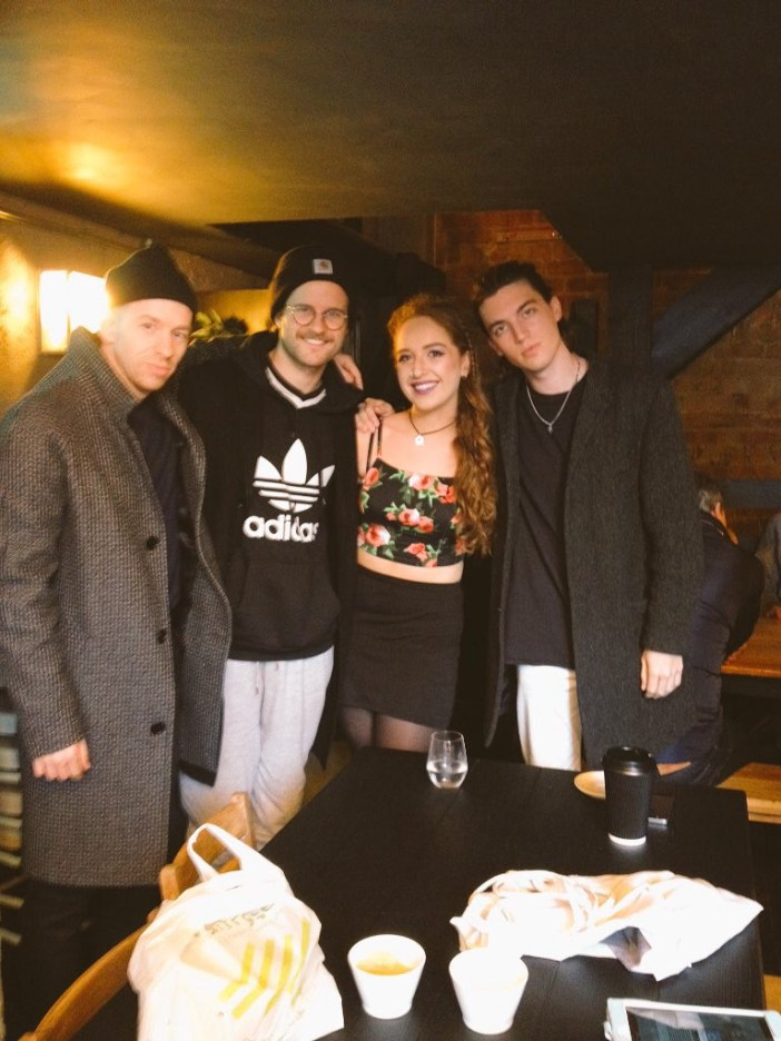 LANY with Quays News reporter Isobel Hine