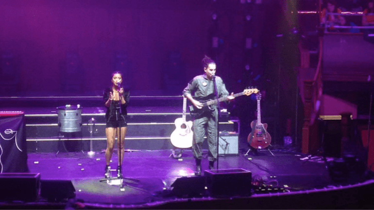 Us The Duo supporting Pentatonix at Albert Hall, Manchester