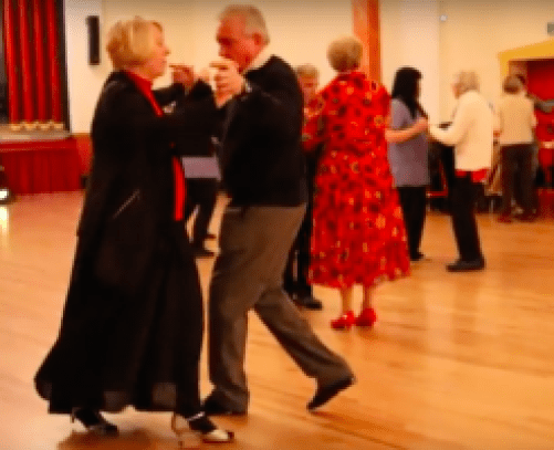 Lesley dancing at the Dancing with Dementia two year anniversary