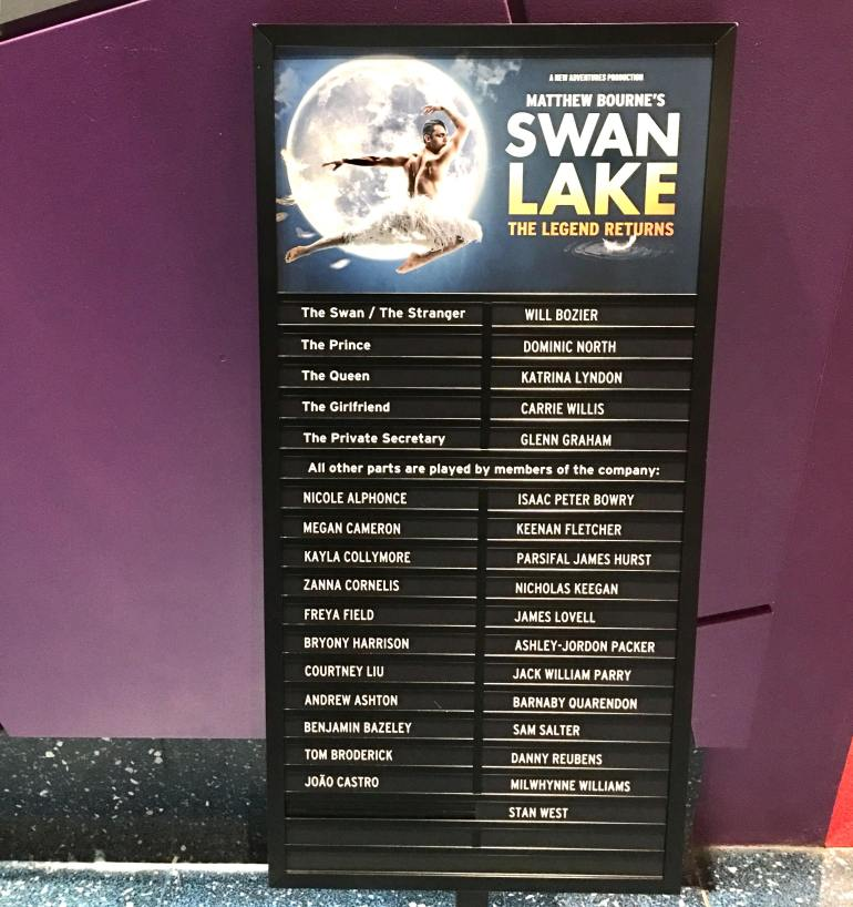 Swann Lake at Salford starring Will Bozier.
