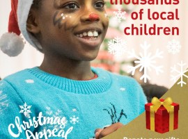 Wood Street Mission launches new 2018 Christmas Appeal in Salford
