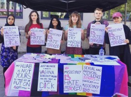 Manchester activists rally to make misogyny a hate crime