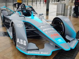Gen2 Formula E car for upcoming season