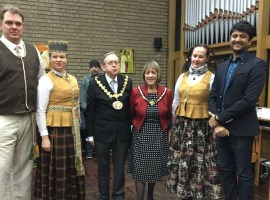 Ceremonial Mayor attends Europia's Great Christmas Get Together event