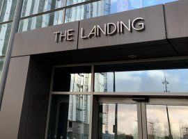 A digital record label has expanded its office at The Landing in Media City
