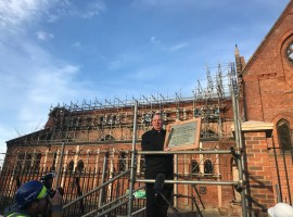 Salford's £5m church restoration is real 'phoenix from the ashes' project