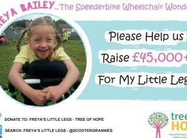 Help local little girl reach her target for life changing physiotherapy
