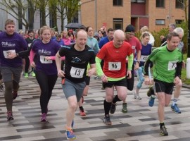 Salford University fun run to 'give back to the local community'