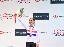 CYCLING: Laura Kenny triumphs as husband Jason misses out on national jersey