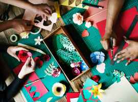 Let the kids loose at Swinton's new Arts and Crafts club