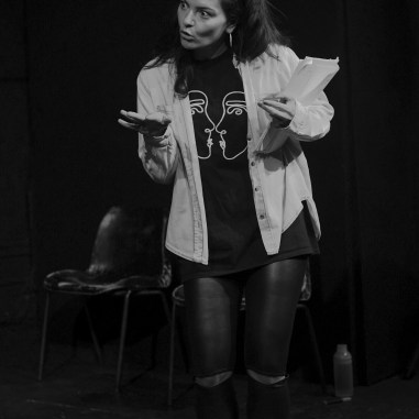 Francesca Kingdon as Julie | Photo Credit: Mark Russell