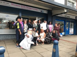 Women with Wings open business centre in Little Hulton