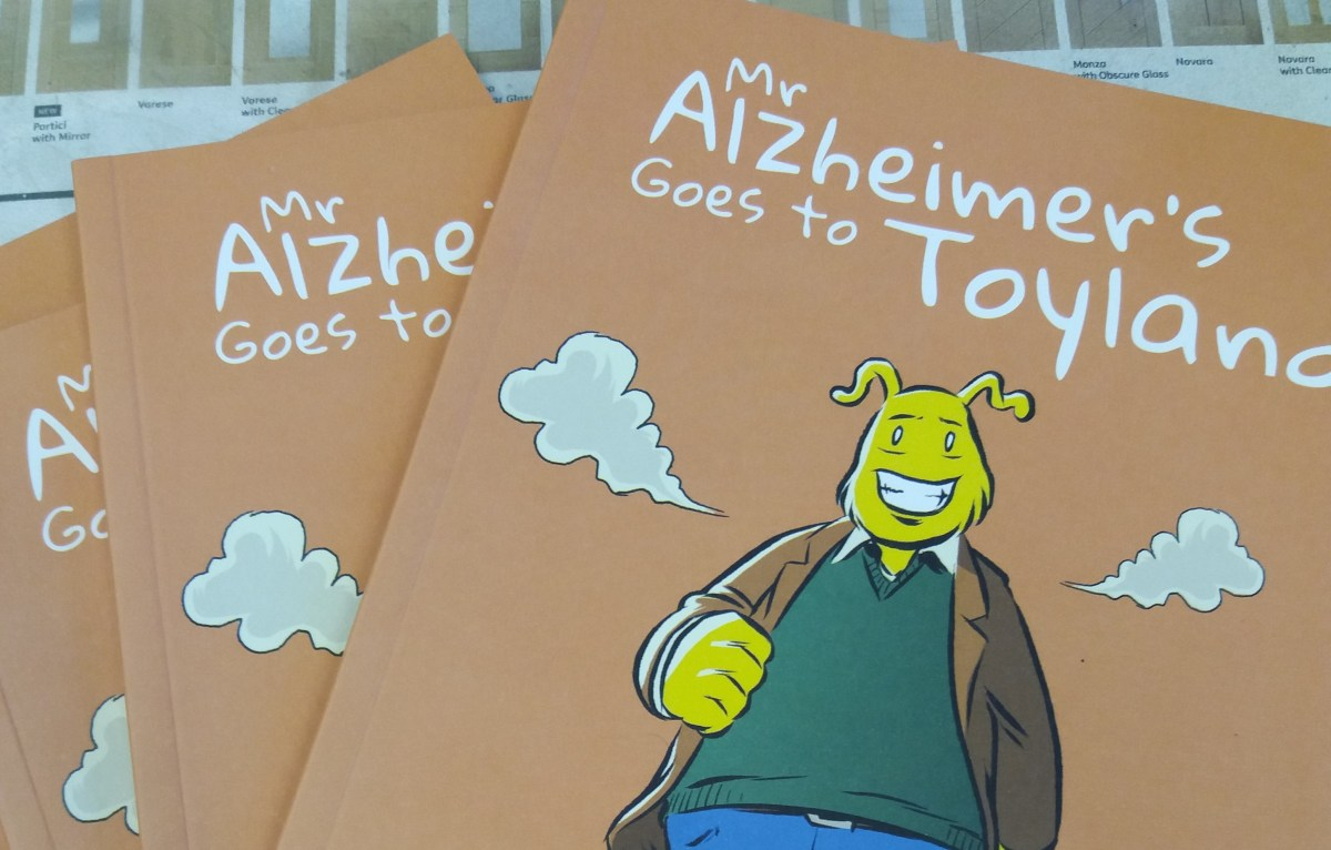 Mr Alzheimer's helping Salford school children understand dementia