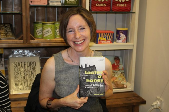 Selina Todd with a copy of her new book