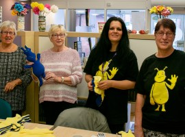 Stitchers and Stuffers event in Salford helps raise children's awareness of dementia