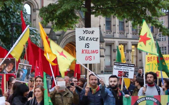 """""""What we do in our silence will kill other people!""""-Salford resident who moved from Syria raises his concerns about the conflicts abroad"""