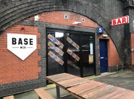 Baseball bar owner from Salford celebrates two years in business