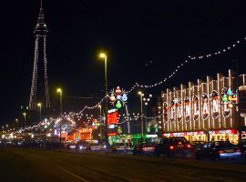 Image from Wikipedia of Blackpool Illuminations: https://commons.wikimedia.org/wiki/File:Blackpool_tower_and_illuminations.jpg