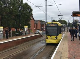Weaste to Eccles tram disruption