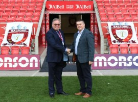 Photo Credit: Salford Red Devils press release