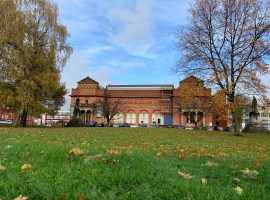 Salford Museum where the Big Sleep Out will take place.  Copyright Krista Harris 2019.