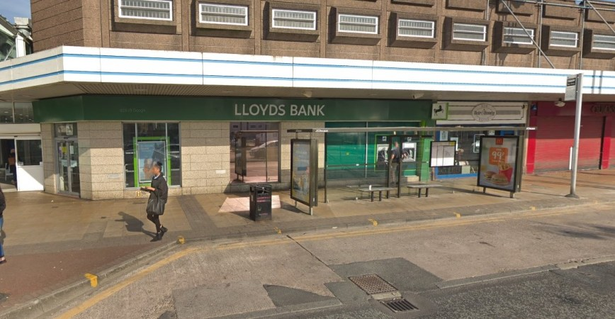 Lloyds Bank in Salford. Credit: Google Maps