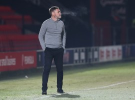 Salford City Manager Graham Alexander (Credit: Salford City - Charlotte Tattersall)