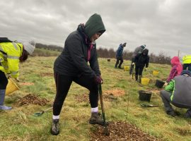 City of Trees are planting 500 trees in one day. Image Credit: Phoebe Walters