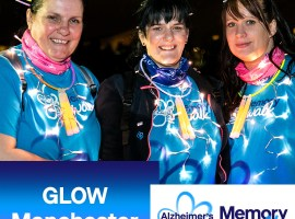 GLOW Manchester 2019 participants (Courtesy of Alzheimer's Society)