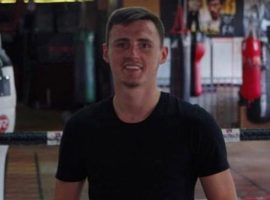 Alex Murphy has been coaching at Eccles Boxing School since he was 15.