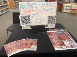Salford Sleepout March 20th