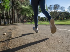 The Government has advised that people get some exercise every day, maintaining the correct distance between other people. Image courtesy of Pixabay, labelled for reuse.
