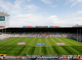 Newcastle United's St James' Park before the Dacia Magic Weekend match at St James' Park, Newcastle.