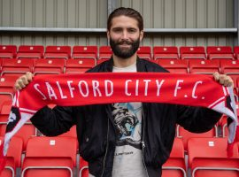 Turnbull has signed for Salford on a two-year deal. Credit: Salford City